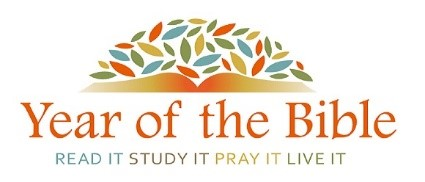 Year of the Bible - Read It, Study It, Pray It, Live It.