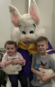 Photo from our recent Easter Egg hunt.