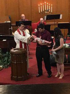 Baptism of Jack.