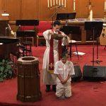 Baptism of Jacob.