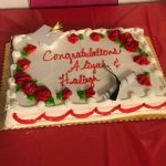 Aliyah and Haleigh graduation from 1-2-1 cake.