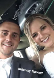 Haley and Conor - Officially Married!