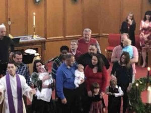 Baptisms on December 22, 2019