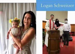 Logan Schweitzer Baptism