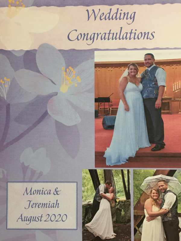 Monica and Jeremiah wedding.