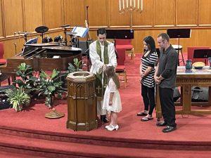 Savannah's Baptism